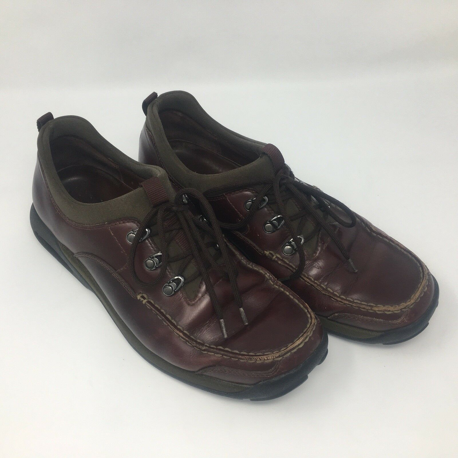 Cole Haan Country Men Loafers Lace Up 10.5 M Brown C00968