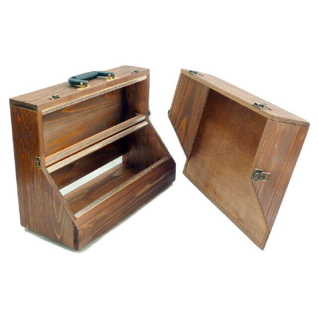 Eurorack Modular Synth Wooden Portable Case 6U 168HP (2x84HP) VC-007 3 Farbes