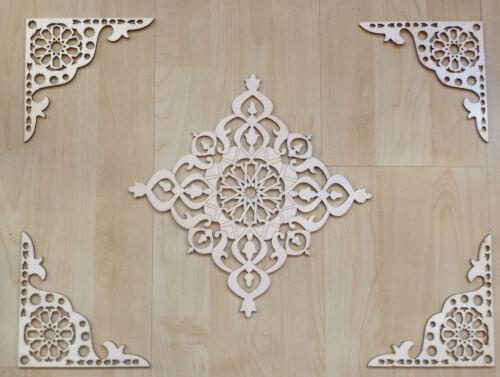 Fliesen Wände  20x20cm orientalisches Dekor Zierleisten Orient Deko für Möbel