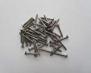 50x-LP-Guitar-Pickup-Frame-Screws-Humbucker-Pickup-Ring-Mounting-Screws-Chrome
