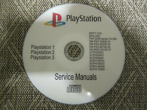 Details about Repair Service manuals Schematics for Sony Playstation on cd  in pdf format