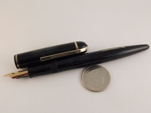 EVERSHARP SKYLINE 14K GOLD NIB FOUNTAIN PEN VINTAGE