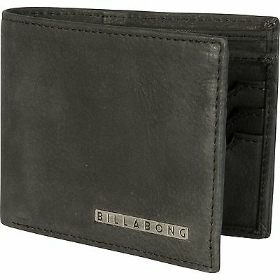 BILLABONG MENS EMPIRE REAL 100% LEATHER CARD/COIN WALLET/PURSE 5W/U5LW02/2061