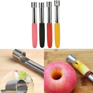 Acier-inoxydable-fruit-Core-Seed-Remover-pomme-poire-corer-trancheur-cuisine-PM