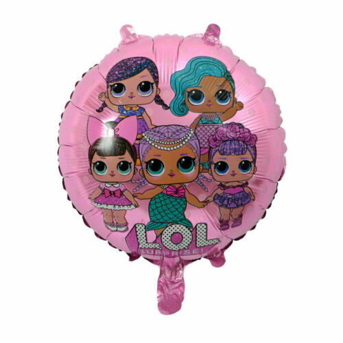 "FREE POSTAGE-SAME DAY DISPATCH LOL SURPRISE 18/"" ROUND FOIL BALLOON UK SELLER"