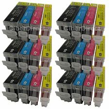 24 ink cartridges WITH CHIP for the CANON PIXMA IX 4000