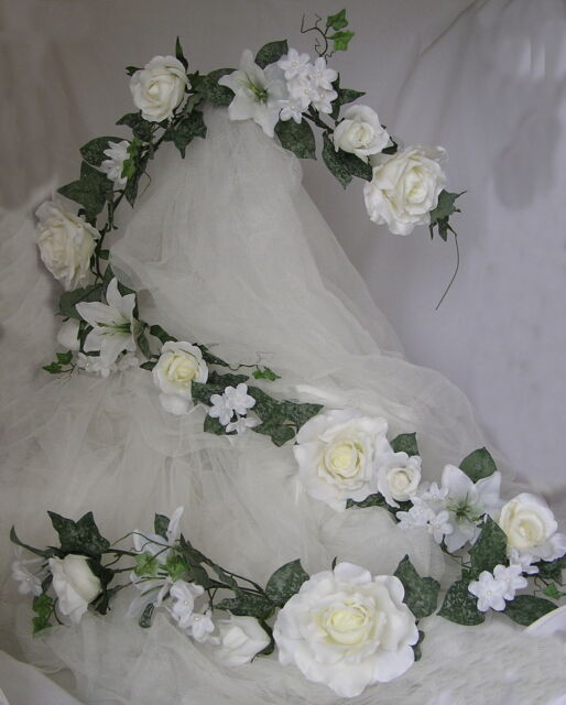 Garland Rose Wedding Church Top Table  6FT Quality Job Lot Sale