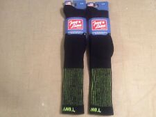 Over-the-Calf Tony Lama Boot Socks 2 Pairs Mens L 9-11.5  Shoe Size
