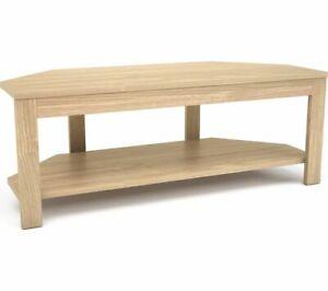 LOGIK L105MDF18 1050 mm TV Stand - Wood - Currys
