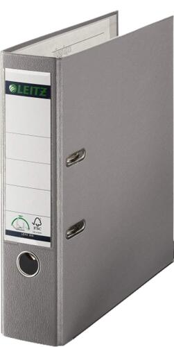 20 x ORDNER A4 8cm grau LEITZ 1010 Kunststoff Qualitäts Aktenordner