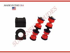 4PC Chevrolet Impala GM Suspension Stabilizer Bar Links Bushings K5342 K80813
