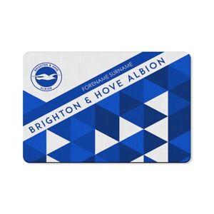 Nouvelle Mode Brighton & Hove Albion F.c - Personnalisé Tapis De Sol (motifs)-afficher Le Titre D'origine