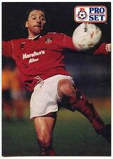 Mickey Thomas Wrexham #453 Pro Set Football 1991-2 Trade Card (C364)