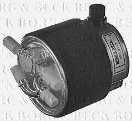 BFF8117 Borg /& Beck Filtre à Carburant Convient Nissan Qashqai