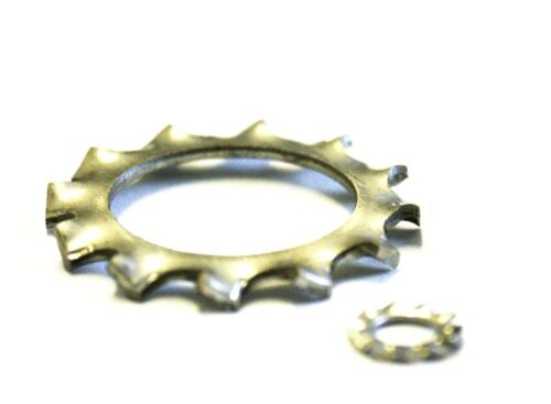 Serrated Lock Washers A2 Stainless DIN 6798-50 PK M4 External Shakeproof