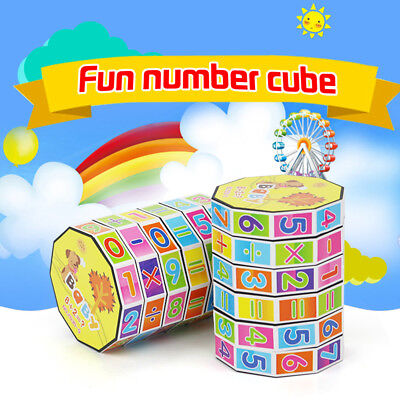 1PC Mathematics Numbers Magic Cube Toy Puzzle Game Gifts Children Kids Toys Nice