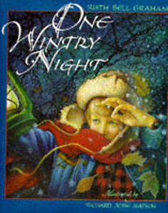 Very-Good-One-Wintry-Night-Hardcover-Graham-Ruth-Bell-0745927505