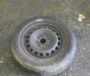 Renault-Kangoo-2007-2017-Steel-Wheel-Rim-Tyre-195-65-15-7mm-Tread-5-Stud-4-5