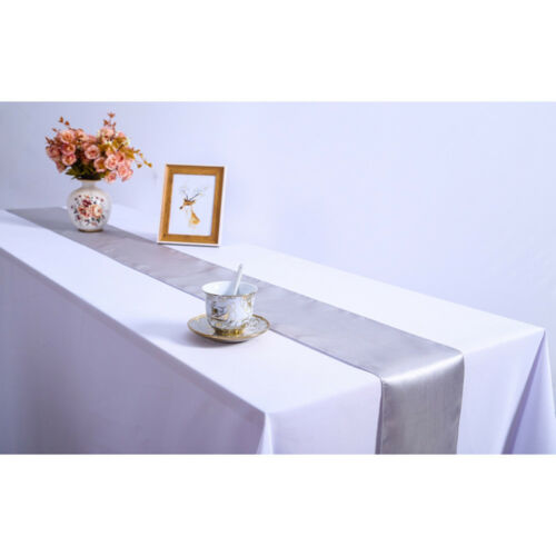30*275cm Solid Colors Table Runner Wedding Party Banquet Tablecloth Decor New