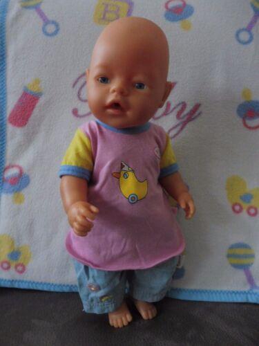 Shirt  und Jeans - Sommer 43 cm Baby Born Hose Zapf Creation
