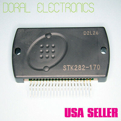 STK282-170 Original Sanyo /& heatsinkc  Free Ship Integrated Circuit IC Genuine
