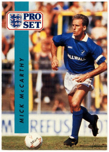 Mick McCarthy Millwall #270 Football Set Pro commerce 1990-1 carte C363