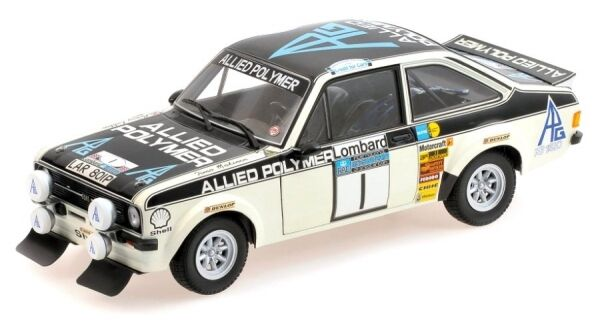 Ford ESCORT II rs1800 No. 1 winner rac rally 1975 (Makinen-Liddon)