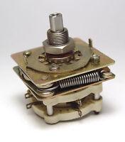 MIL Spec Drehschalter / Schalter, 2 Stellungen, 2x NC + 2x NO, keramisch, NOS