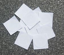 10x NFC Tag Sticker Topaz 512 30mm Aufkleber rund weiß - für ALLE NFC Geräte!!