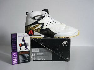 release date: 1dfab 87ac0 Image is loading 1992-VINTAGE-NIKE-AGASSI-AIR-CHALLENGE-HUARACHE-TENNIS-
