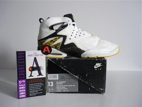 Hi Agassi Air Huarache deportivas Tenis Nike 1992 Vintage Challenge Tops Zapatillas 90`s xTqEfzX