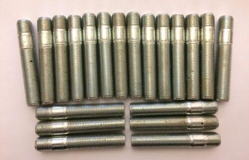 20 X M14X1.5 Aleación Pernos De Rueda Pernos 60 mm ft largo De Conversión VW 5X100 M14X1.5 57
