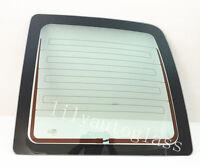 Fit 03-16 Gmc Savana Passenger Right Rear Back Window Glass Stationary Heated