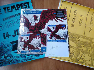 TEMPEST-5-AGAINST-THE-HOUSE-LP-CD-OPTIC-NERVE-LIMITED-2-POSTERS-SIGNED