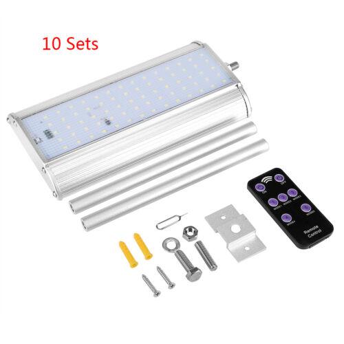 Waterproof Solar 70 DEL capteur de mouvement lumière jardin extérieur Chemin Street Wall Lampe