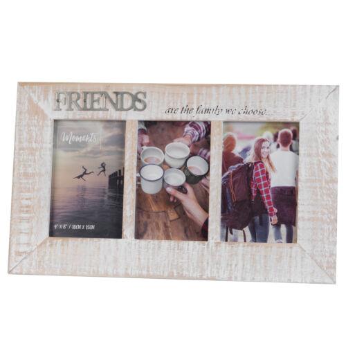 """En bois /""""Moments Triple 6/'x4/' Cadre Photo-Amis"""