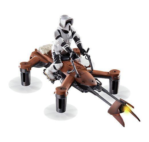 Collectors Edition Star Wars 74-Z SPEEDER BIKE Battle Quad.