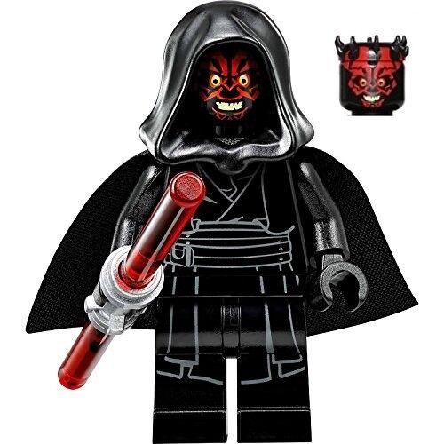 LEGO Star Wars MiniFigure w// Printed Legs /& Black Hood Set 75096 Darth Maul