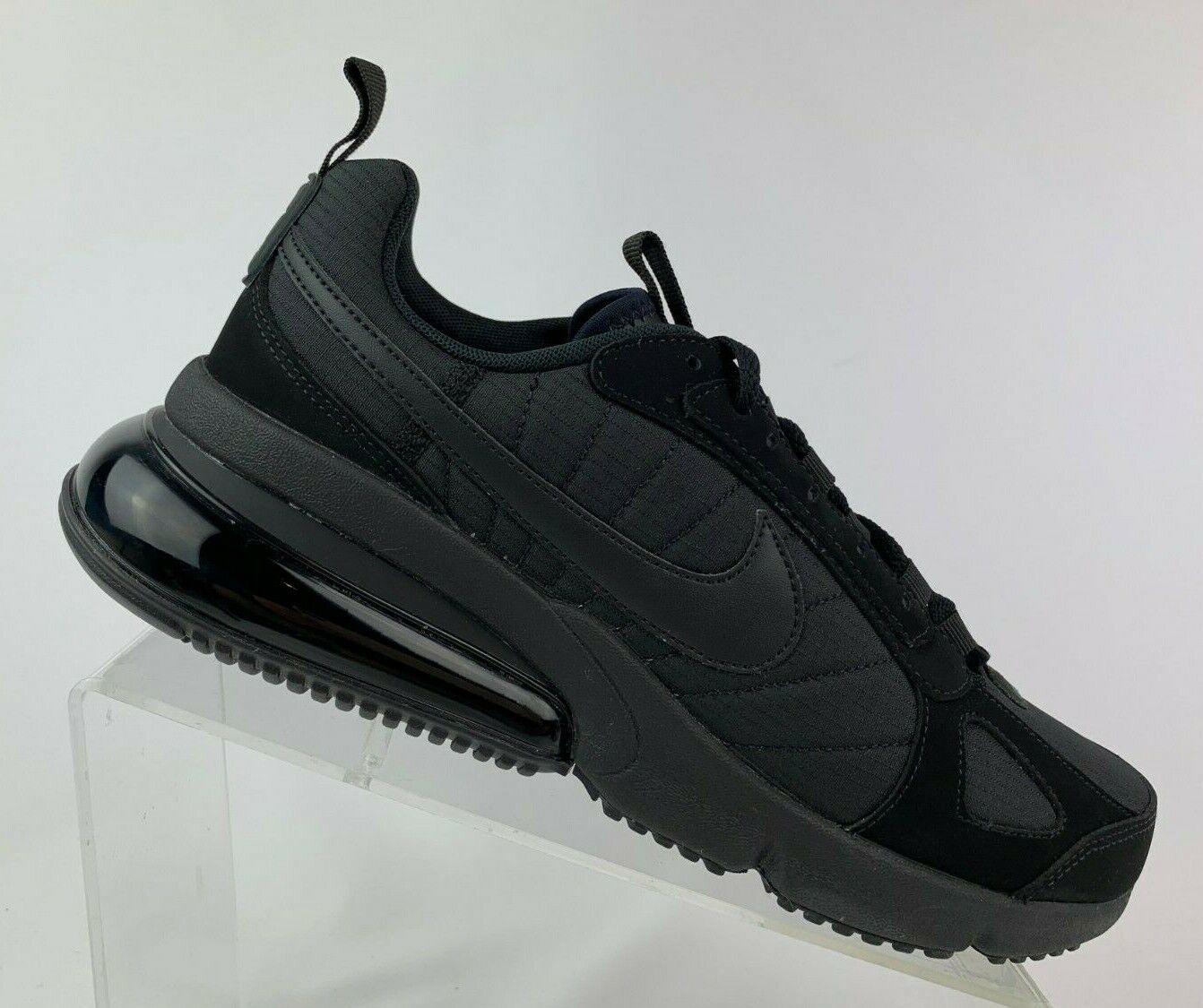 Nike Air Max 270 Futura Triple Black Anthracite Men's Shoes AO1569 005