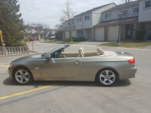 2007 Bmw convertible hardtop with 2 sets of tires in Great Shape