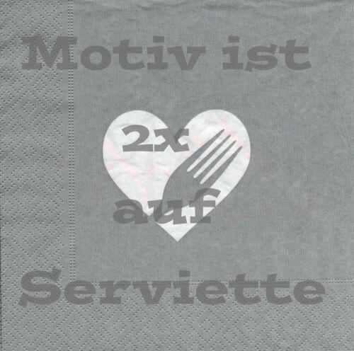 4 Servietten Motivservietten Serviettentechnik Spruch Redewendung 1299