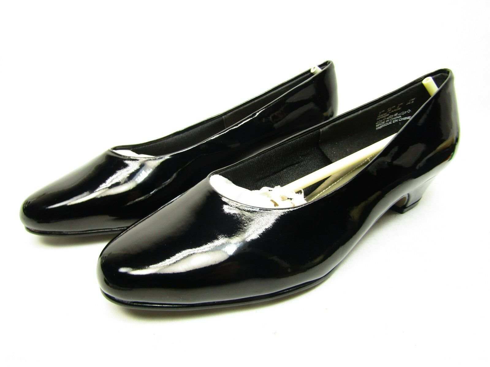 Soft Style By Hush Puppies ANGEL II Womens  Pump Heels Black Size 7W