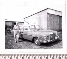 1960's Mercedes 250S Registration OPF230E Original Photograph