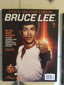 Bruce Lee Official Collector S Edition Topix Media 98 Pages In His Own Words New Ebay