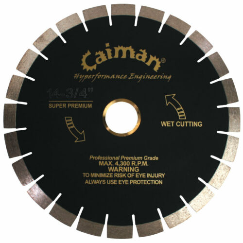 Caiman Super Premium Non-Silent Core Granite Blade MADE IN KOREA