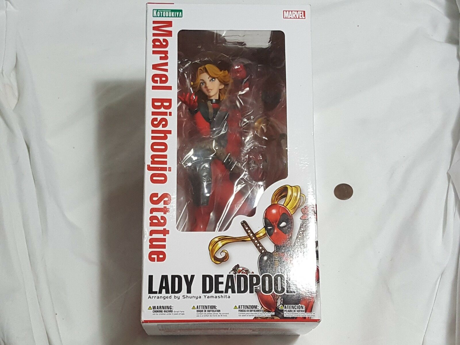 NEW Lady Deadpool Marvel Bishoujo Statue SEALED Kotobukiya dead pool female