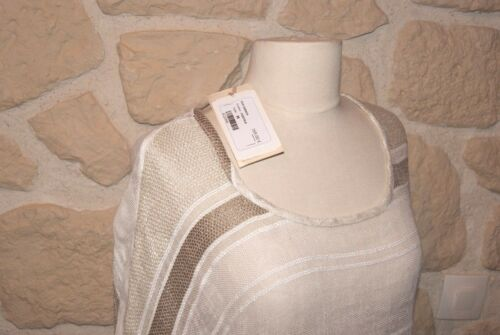 Maril Et Beige Haut M Blanc Marque Taille Neuf wUB50x4q
