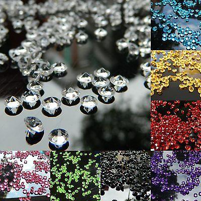 10000PCS 4.5mm 1/3ct Diamond Table Confetti Decoration Wedding Party CRYSTALS