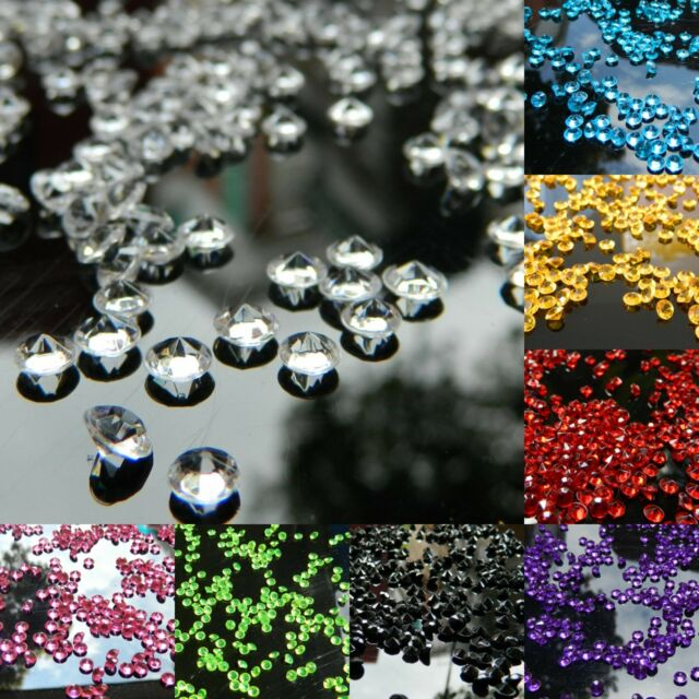 10000PCS 4.5mm 1/3ct Diamond Table Confetti Decoration Wedding Party CRYSTALS