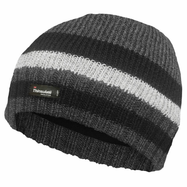 f92473d68d177c Men's Hat Thinsulate Fleece Lined Warm Winter Angling Fishing Work ee1